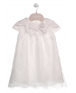 DRESS WITH BOWS ON NECKLINE