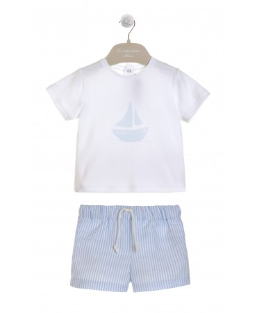 SET T-SHIRT AND SWIMMWEAR