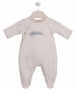 ROMPER SUIT WITH TWO BIBS