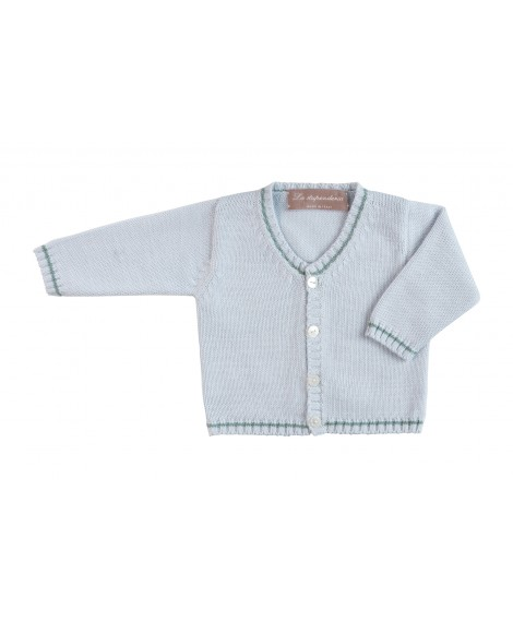 COTTON KNITWEAR - CARDIGAN