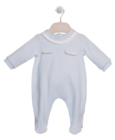 ROMPER SUIT WITH POCKETS