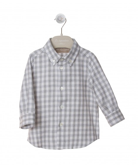 CAMICIA CON COLLO BUTTON-DOWN