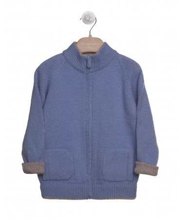 PURE CASHMERE KNITWEAR - CARDIGAN