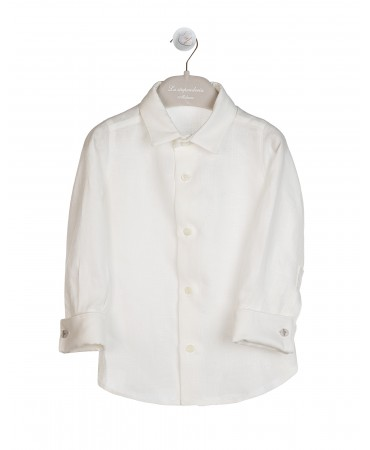 ELEGANT SOFT CREAM SHIRT
