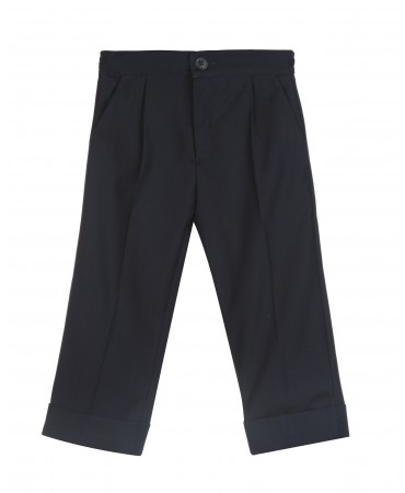ELEGANT NAVY TROUSERS
