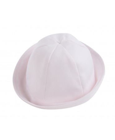 PINK COTTON PIQUET HAT
