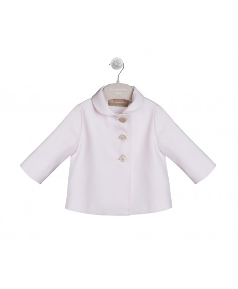 PINK COTTON PIQUET JACKET