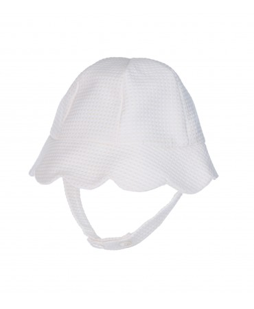 CREAM PETAL BONNET