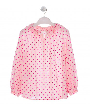 COULISSE POIS FUCHSIA SHIRT