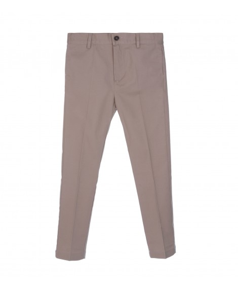 SAND CHINO TROUSERS