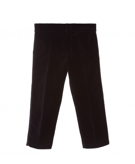 CLASSIC NAVY TROUSERS WITH PROFILE