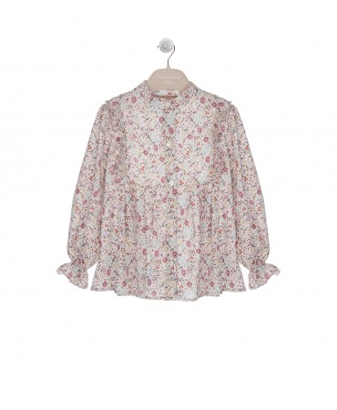 WISTERIA BUTTON DOWN BLOUSE
