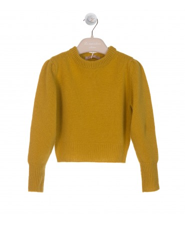 MUSTARD WOOL JUMPER