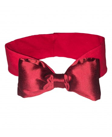 Red elastic baby headband
