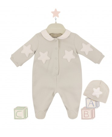 romper with pink stars