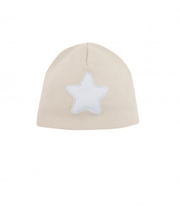 BABY HAT WITH BLUE STAR
