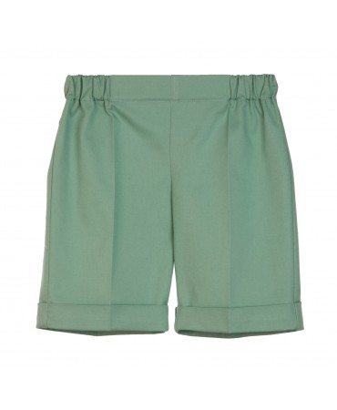 BERMUDA SHORTS WITH CUFF