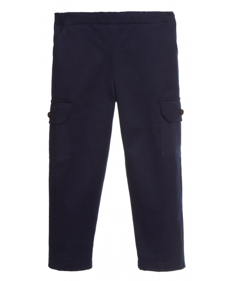 TROUSERS WITH LATERAL POCKETS