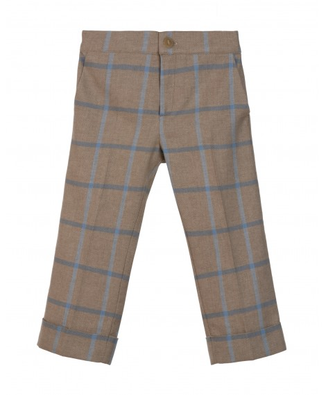 TROUSERS WITH CUFF